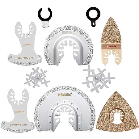 31 unidades de hoja de sierra oscilante multiherramienta oscilante multifunci/ón accesorio de herramienta oscilante hoja de sierra universal para clavos de esquinas Bosch Dewalt Makita