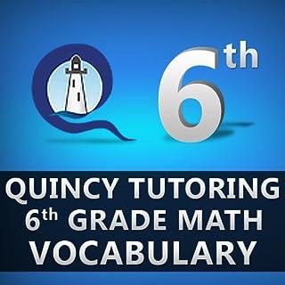 Quincy Tutoring Sixth Grade Math Vocabulary Flashcards