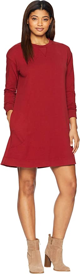 Leidy Fleece Dress