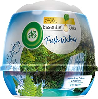 Air Wick Natural Oil Scented Gel, Fresh Waters, 180 g