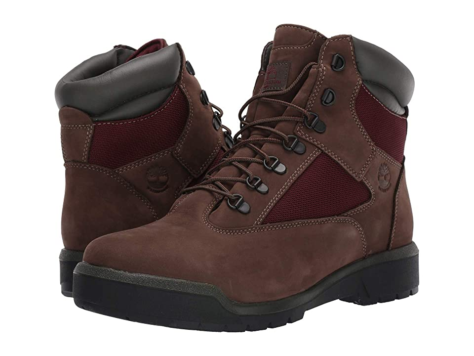 Timberland Field Boot 6 F/L Waterproof (Dark Brown Nubuck) Men