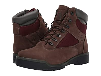 Timberland Field Boot 6 F/L Waterproof (Dark Brown Nubuck) Men