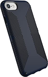 Speck Products Presidio Grip Case for iPhone 8 (Also Fits 7/6S/6), Eclipse Blue/Carbon Black