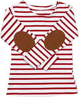 Digood for 1-6 Years Old Kids, Boys Girls Stylish Stripe Long Sleeve T-Shirt Tops Blouses Clothes