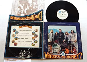 Dan Hicks And His Hot Licks Used Vinyl LP Record Where's The Money? - Blue Thumb Records 1971 - 1971 Pressing BTS 29 Very Rare - Coast To Coast - Dig A Little Deeper - Shorty Falls In Love