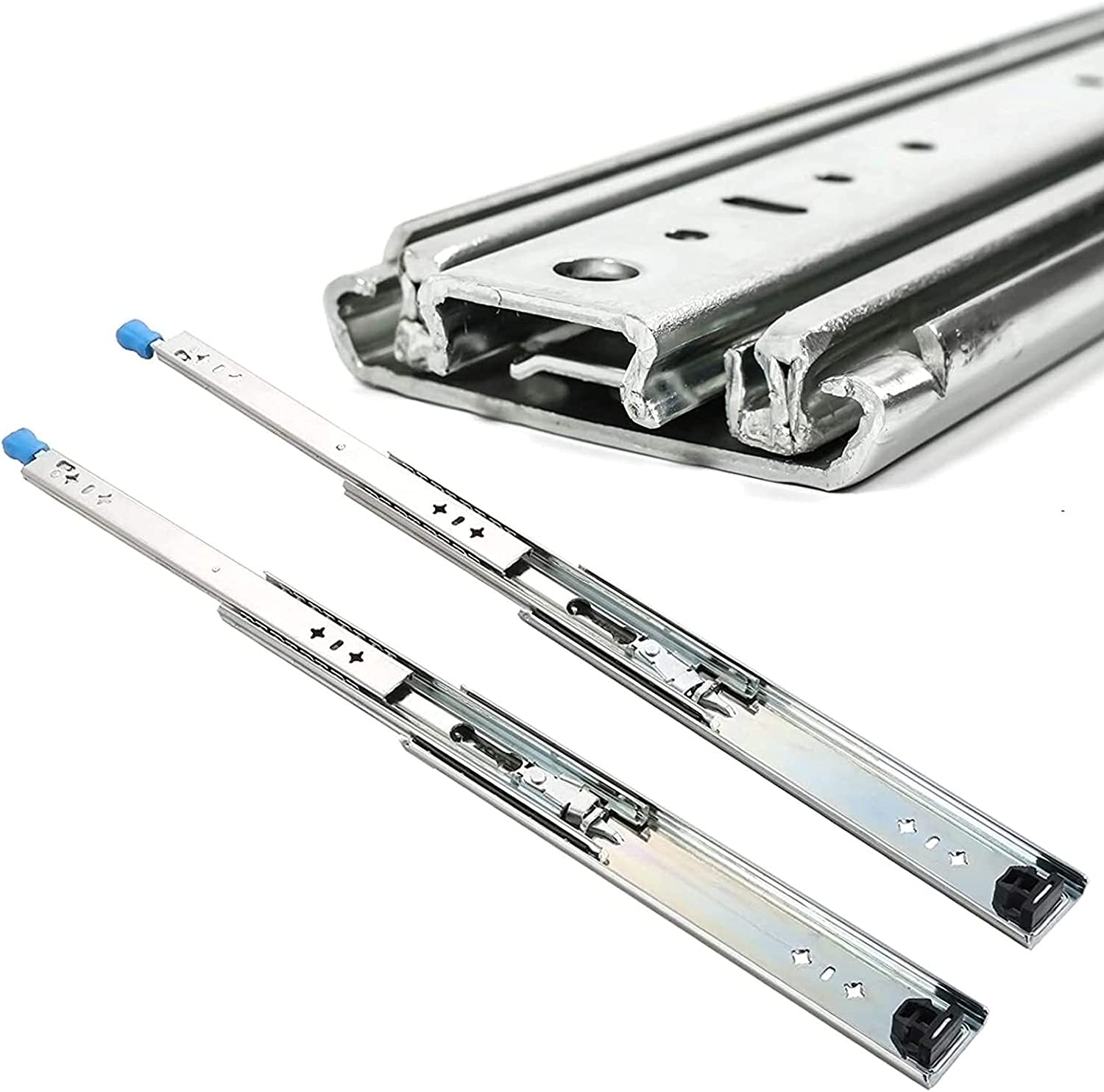 Shipping included YDSHOLL 53mm Wide Ball Bearing Drawer - Slides Heavy 265lb Duty Limited price