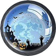 Lade handgrepen trekken voor huis keuken dressoir garderobe,Gelukkig Spooky Moon Castle