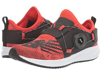 New Balance Kids FuelCore Reveal (Little Kid) (Neo Flame/Team Red) Boys Shoes