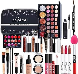 Sponsored Ad – 27 Piece Professional Makeup Set & Portable Travel Makeup Organiser Storage BoxGifts for Teenage Girls