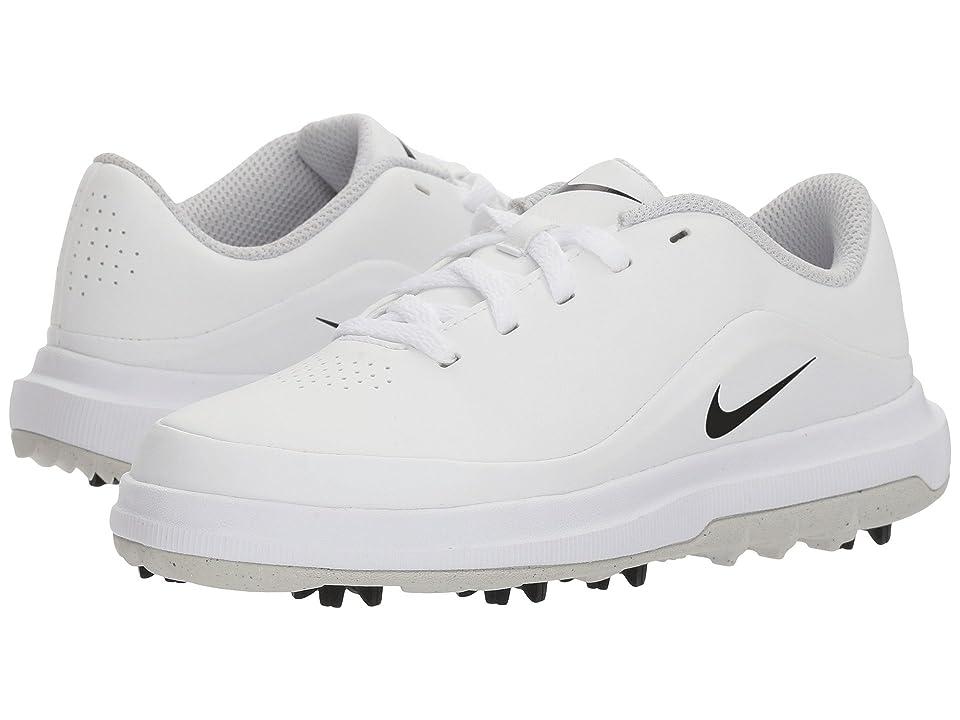 Nike Golf Precision (Little Kid/Big Kid) (White/Black/Metallic Silver) Men