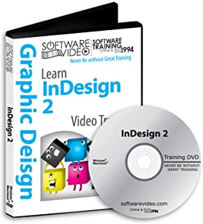 Software Video Learn Adobe Suite InDesign 2 Training DVD Sale 60% Off training video tutorials DVD Over 4 Hours of Video Tutorials Training