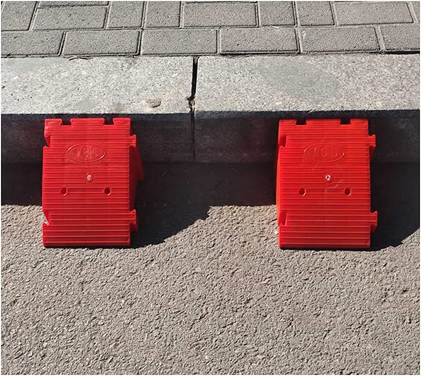 YNWUJIN 25X20X19Cm Plastic Brand 5 ☆ very popular new Curb Ramps Lightweight Can Splice Be