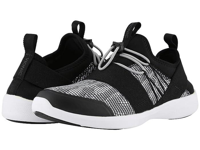 VIONIC  Alaina (Black/White) Womens Shoes