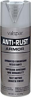 Valspar 21956 Brushed Nickel Enamel - 12 oz.
