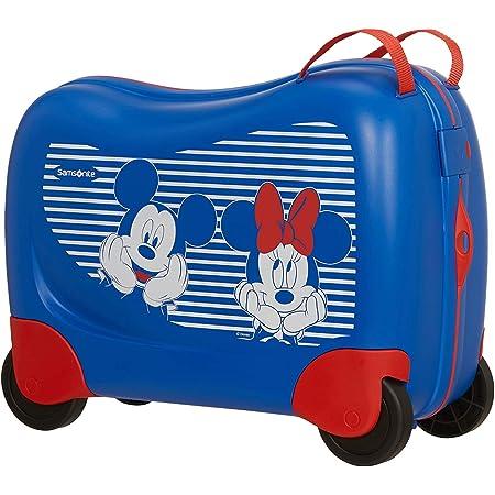 Samsonite Dream Rider Disney - Bagage Enfant, 51 cm, 28 L, Bleu (Minnie/Mickey Stripes)