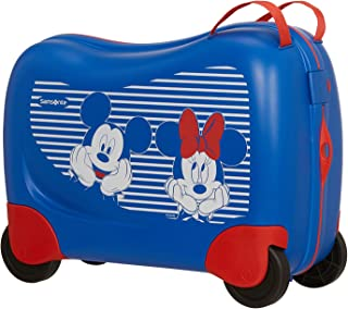 Samsonite Dream Rider Disney - Equipaje Infantil, 51 cm, 28 L, Azul (Minnie/Mickey Stripes)