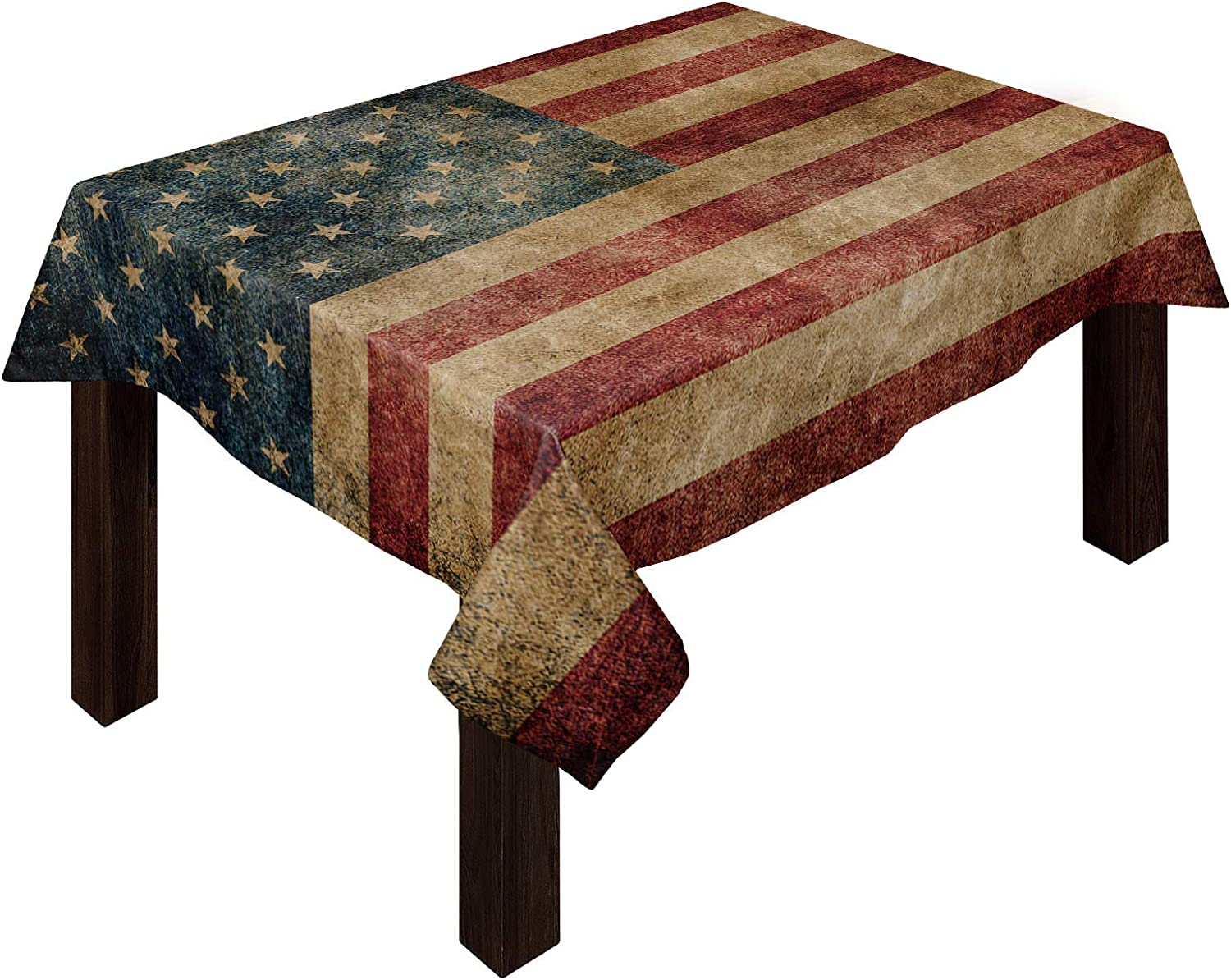 Cotton High material Linen Tablecloth Under blast sales 4th of July for Cloth Ki Outdoor Picnic