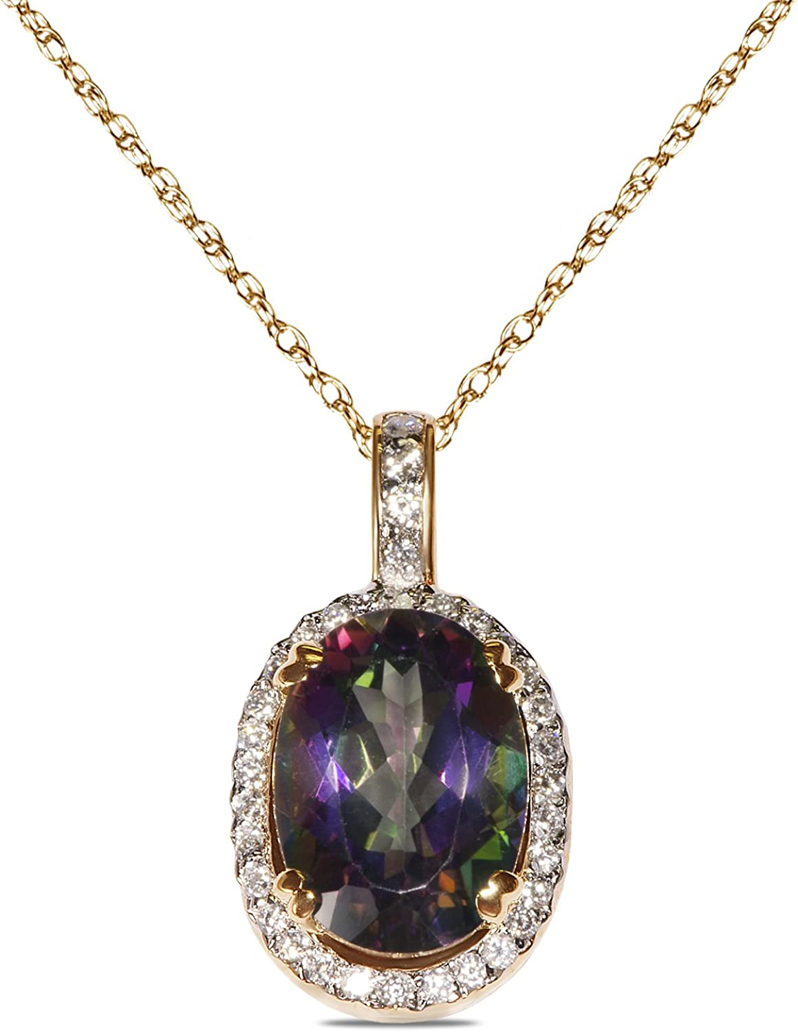 Royal Jewelz 1 3ct Diamond Oval Denver Mall Necklace Pendant Frame Price reduction Lab- with
