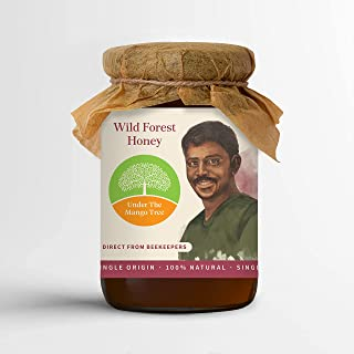 UTMT Under the Mango Tree Wild Forest Honey, 500 g – 100% Pure & Natural, Single Origin, No Additives and Ethically Sourced