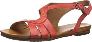 Women's Ashe Flat Sandal red 10 M US