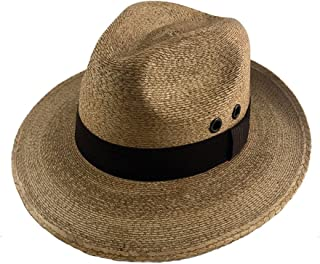 fedora hat in brown with black ribbon sunhat 01 pieces - brown Wilhelm Sell/® straw hat Panama