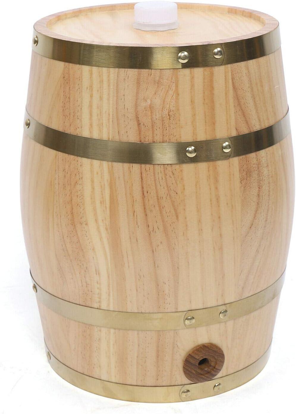 5L 10L Cheap sale Pine Directly managed store Barrel Wine Storage Food-grade w Wooden Keg A