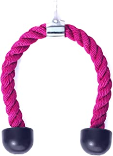 RTG Fitness Ladies Hot Pink Nylon Tricep Rope Cable Attachment