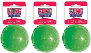 """KONG Squeezz Ball Dog Toy - Assorted Medium (2.5"""" Diameter) - Pack of 3"""