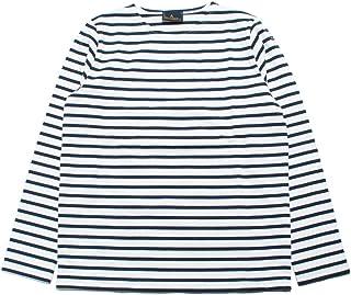 [ルミノア] ボーダー バスクシャツ 長袖 フランス製