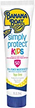 Banana Boat Sunscreen Simply Protect Kids Tear Free, Broad Spectrum Mineral Sunscreen Lotion, TSA Approved Size, SPF 50+, 1 oz