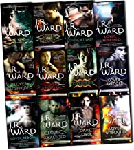 J. R. Ward Black Dagger Brotherhood Series 12 Books Collection Pack Set (Dark Lover, Lover Eternal, Lover Awakened, Lover ...