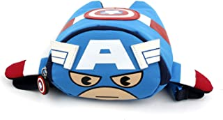 Disney MARVEL Captain America Small HipSack Waist Pack Fanny Bag Phone Wallet for Toddler to Kids(3~5ages)