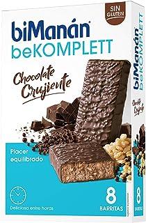 comprar comparacion biManán - beKOMPLETT - Placer Equilibrado - Barritas Chocolate Crujiente - 8uds 280 gr