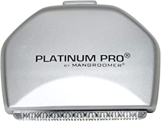PLATINUM PRO by MANGROOMER - New Back Hair Shaver Replacement Blade with 1.8 Inch Wide Blade Design!