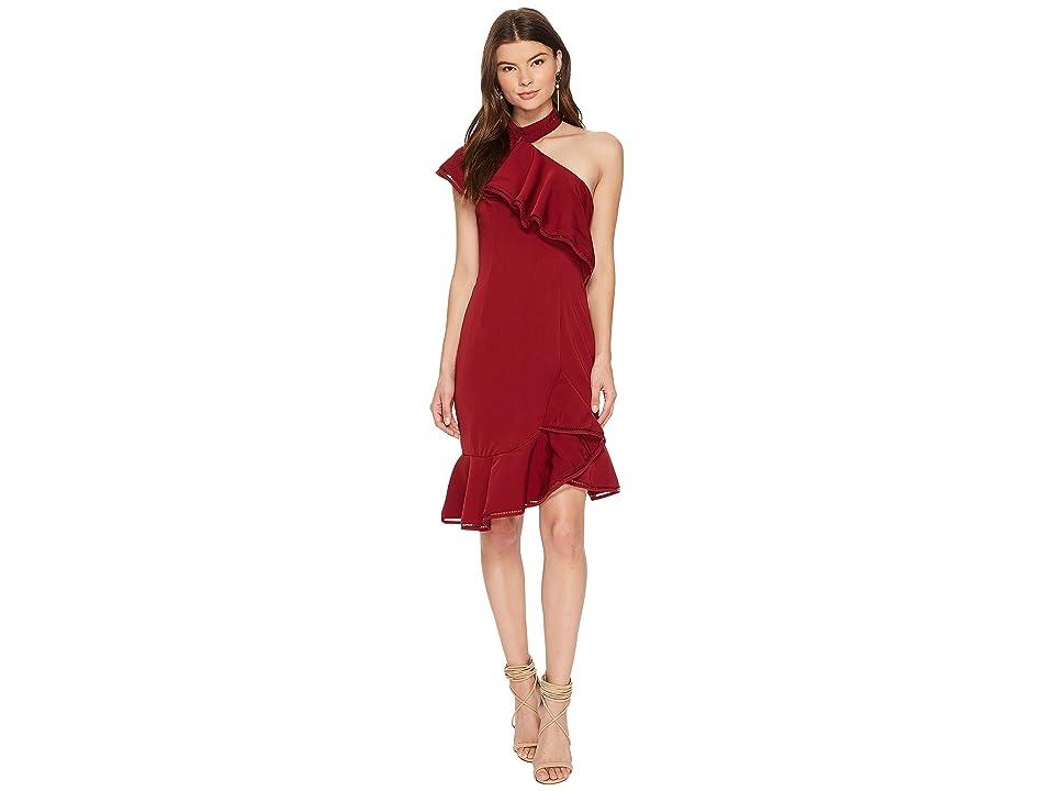 KEEPSAKE THE LABEL Lovers Holiday Mini Dress (Plum) Women