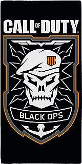 Call Of Duty Black Ops Emblem Towel