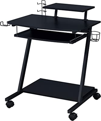 Acme Furniture Ordrees Gaming Table, Black Finish