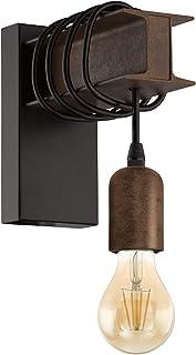 Eglo Suspension Applique murale Noir, marron.