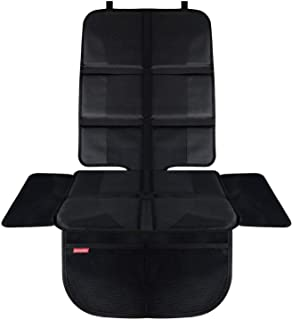 HerzensKind Premium Kindersitzunterlage, der beste Schutz für Ihre Autositze, universeller Autositzschoner für Textil- und Ledersitze, ISOfix geeigneter Sitzschoner, passt unter jeden Kindersitz