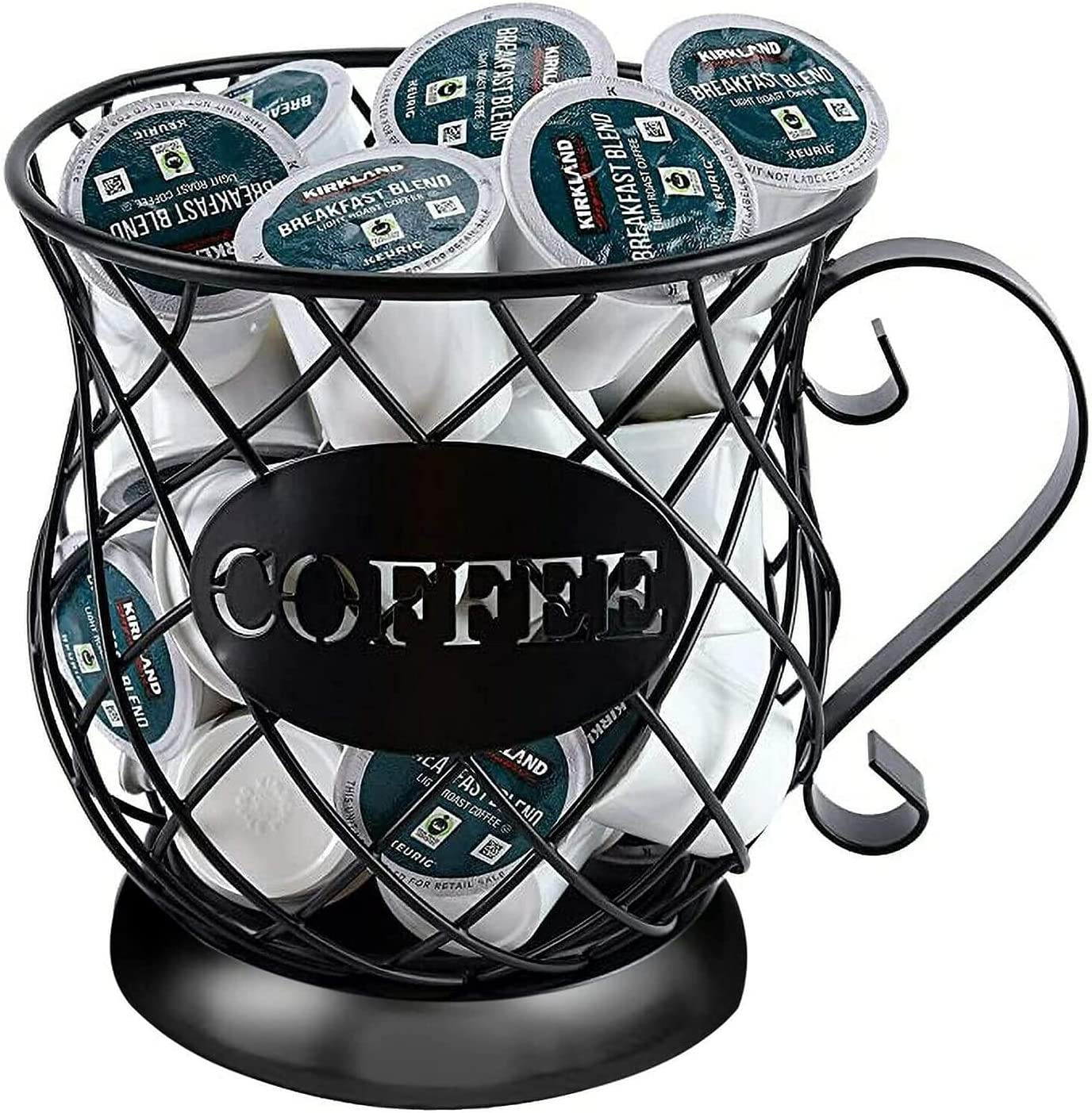 Cup-Shaped Coffee Free Shipping New Pod Holder Storage K Max 43% OFF Rack Cup Basket C