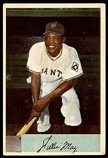 1954 Bowman #89 Willie Mays Very Good NY Giants