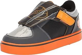 Heelys Kids' Twister X2 Gry/BLK/ORG SMLEA Sneaker