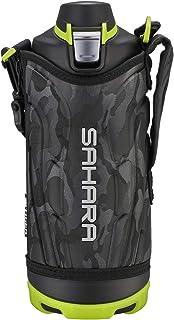 TIGER虎牌 1升 SAHARA系列 不锈钢保温杯 运动直饮 广口 保冷专用 黑色 MME-F100KK