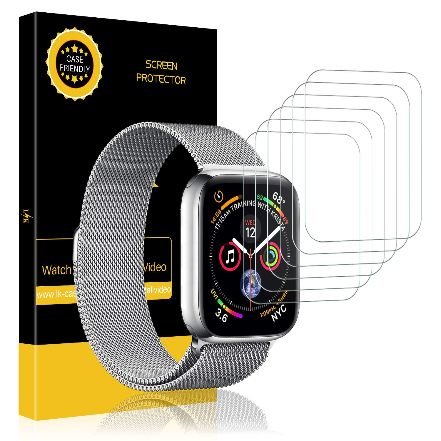LK Apple Watch Screen Protector