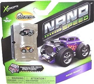 Nano Speed Nano Rods Cars- 2 pack