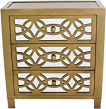 Amazon Com 3 Drawer Accent Chest Drawers