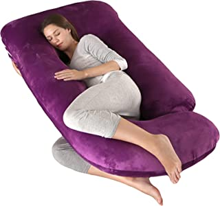 AJIAAIONE Pregnancy Pillow Maternity Pillow U-Shape Full Maternity Body Pillow Sleeping Pillow Support for Back Belly Hips...