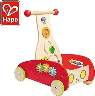 Award Winning Hape Wonder Walker Push and Pull Toddler Walking Toy (Renewed)