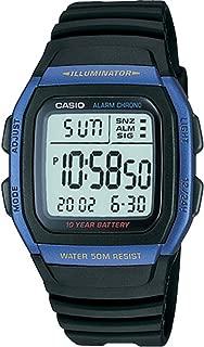 Casio W-96H-2A for Men - Digital, Sports Watch