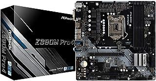 ASRock Z390M Pro4 - Placa de Base, Color Negro